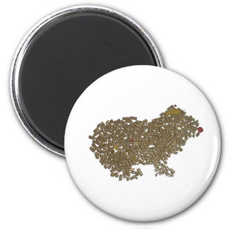 Guinea Pig 2 Inch Round Magnet
