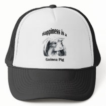 Guinea Pig #3 Happiness is Trucker Hat