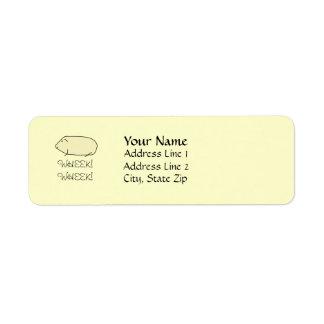 Guinea Pig Address Labels