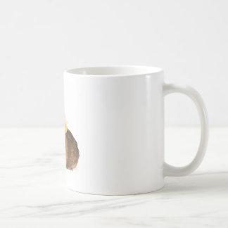 guinea pig and yellow bird classic white coffee mug