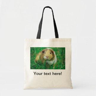 Guinea pig tote bags