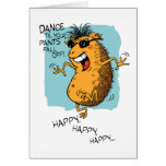 Guinea Pig Boogie Birthday Card