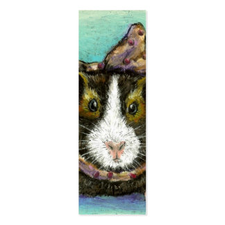 Guinea pig bookmark (pack of 20) business cards