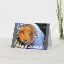 guinea pig bride card