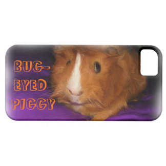 "Guinea Pig ""BUG-EYED PIGGY"" iPhone 5 Case"