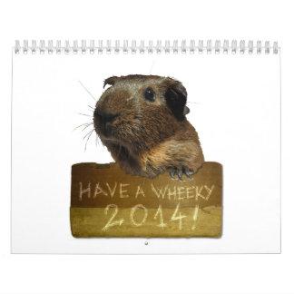 Guinea Pig Calendar 2014