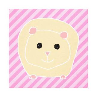 Guinea Pig. Canvas Print