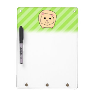 Guinea Pig, Cartoon Animal. Dry-Erase Board