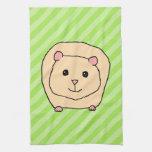 Guinea Pig, Cartoon Animal. Kitchen Towel