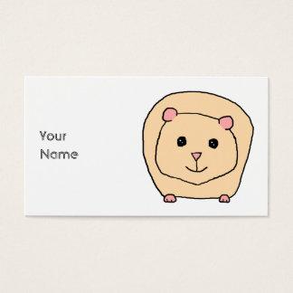Guinea Pig Cartoon. Business Card