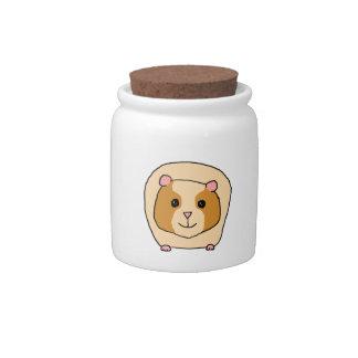 Guinea Pig Cartoon. Candy Jars