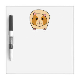 Guinea Pig Cartoon. Dry Erase Board