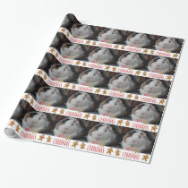 Guinea Pig Christmas Wrapping Paper
