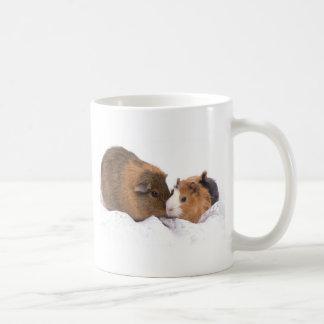 guinea pig classic white coffee mug