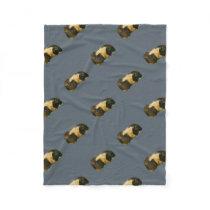 Guinea Pig Fleece Blanket