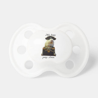 Guinea Pig Funny Pirate Pacifier