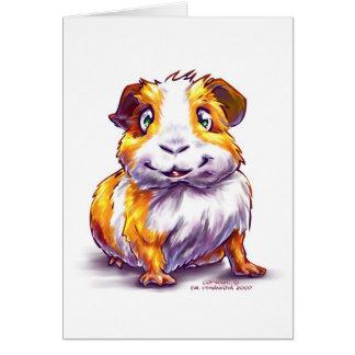 Guinea-pig Greeting Card
