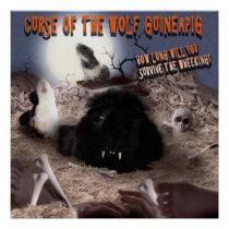 Guinea Pig Halloween Poster