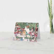 Guinea Pig Holiday Card