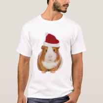 Guinea Pig in Santa's hat T-Shirt