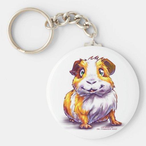 Guinea-pig Keychain