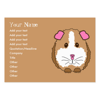 Guinea Pig Large Business Card