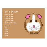 Guinea Pig Large Business Cards (Pack Of 100)