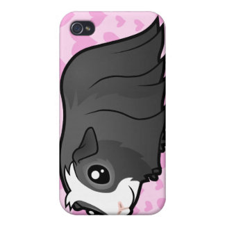 Guinea Pig Love (long hair) (add your pern!) iPhone 4 Cover