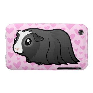 Guinea Pig Love (long hair) iPhone 3 Cover
