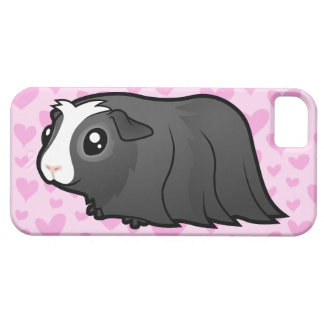 Guinea Pig Love (long hair) iPhone 5 Covers
