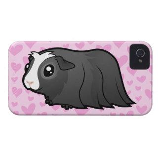 Guinea Pig Love (long hair) iPhone 4 Cases