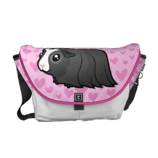 Guinea Pig Love (long hair) Courier Bag
