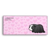 Guinea Pig Love (long hair) Envelope