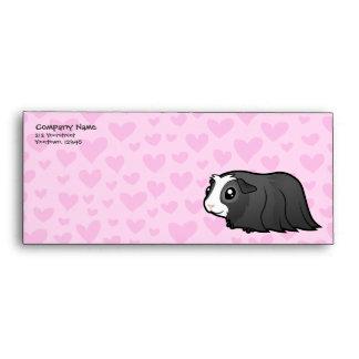Guinea Pig Love (long hair) Envelopes