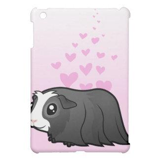 Guinea Pig Love (long hair) iPad Mini Cover