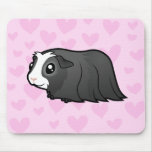 Guinea Pig Love (long hair) Mouse Pad
