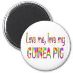 Guinea Pig Love Refrigerator Magnets