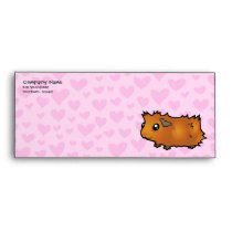 Guinea Pig Love (scruffy) Envelope