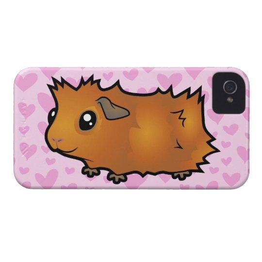 Guinea Pig Love (scruffy) iPhone 4 Case-Mate Case