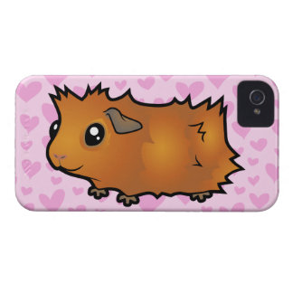 Guinea Pig Love (scruffy) iPhone 4 Cover
