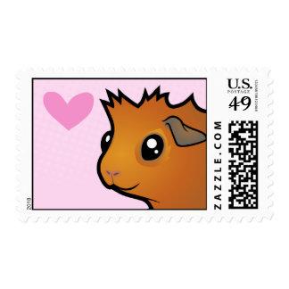 Guinea Pig Love (scruffy) Postage