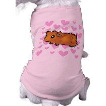 Guinea Pig Love (scruffy) Shirt