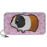 Guinea Pig Love (smooth) (add your pattern!) iPhone Speakers