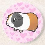 Guinea Pig Love (smooth hair) Coaster