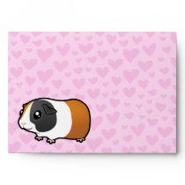 Guinea Pig Love (smooth hair) Envelope
