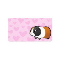 Guinea Pig Love (smooth hair) Label