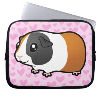 Guinea Pig Love (smooth hair) Laptop Sleeve