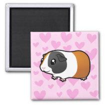 Guinea Pig Love (smooth hair) Magnet