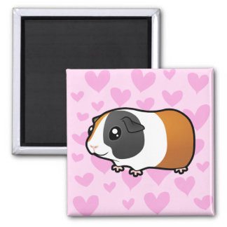 Guinea Pig Love (smooth hair) Magnet