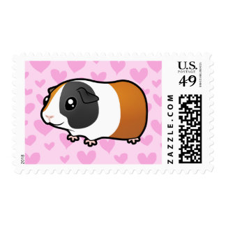 Guinea Pig Love (smooth hair) Postage